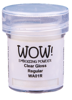 WOW Embossing Powder CLEAR GLOSS Regular Large Jar WA01RL Preview Image