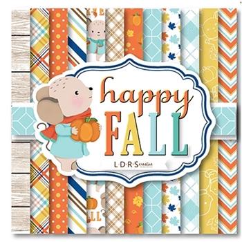 LDRS Creative HAPPY FALL 6 x 6 Paper Pack 3101