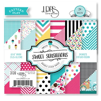 LDRS Creative SWEET SENSATIONS 6 x 6 Paper Pack 3138
