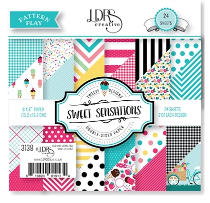LDRS Creative SWEET SENSATIONS 6 x 6 Paper Pack 3138 zoom image