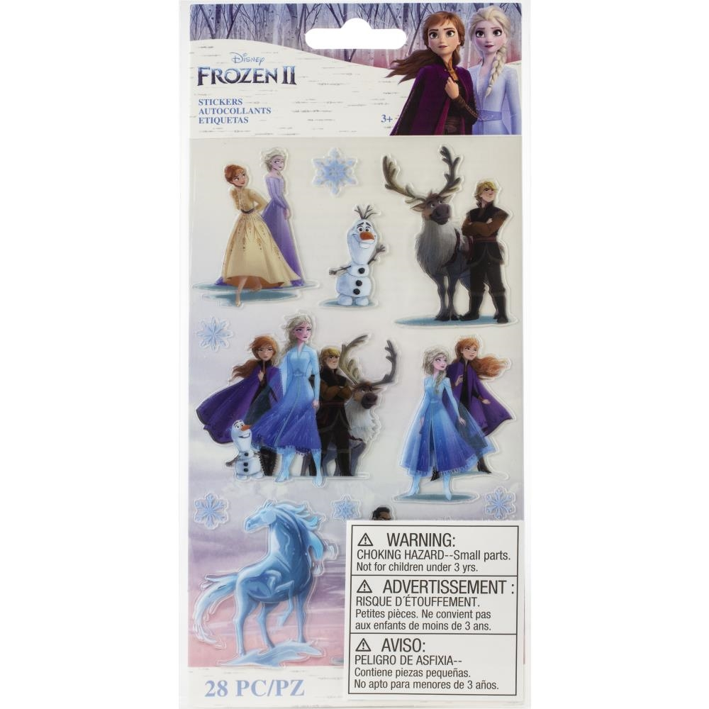 EK Success DISNEY'S FROZEN II FROZEN CHARTERS Stickers 8600825 zoom image