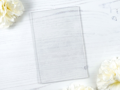 Purple Onion Designs 4 X 6 CLEAR MOUNTING STAMP pod9900  Preview Image