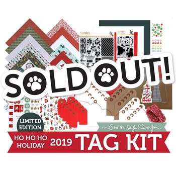 Limited Edition Simon Says Stamp HO HO HO Holiday Tag Kit 2019 ssshhck19