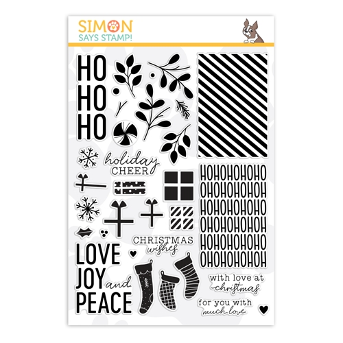 Simon Says Clear Stamps HO HO HO sss202105 Preview Image