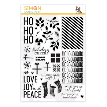 Simon Says Clear Stamps HO HO HO sss202105