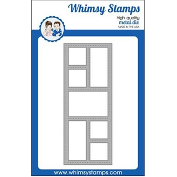 Whimsy Stamps SLIMLINE WINDOWS Dies WSD329