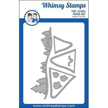 Whimsy Stamps MOUNTAIN MAJESTY Dies WSD434