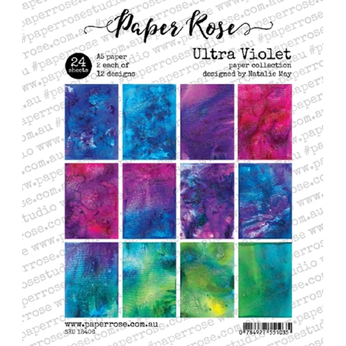 Paper Rose ULTRA VIOLET Paper Pack 18406 Preview Image