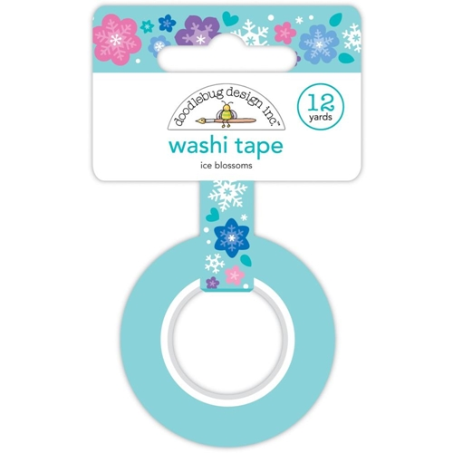 Doodlebug ICE BLOSSOMS Washi tape 6435 Preview Image