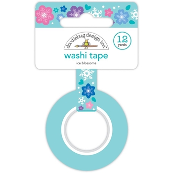 Doodlebug ICE BLOSSOMS Washi tape 6435