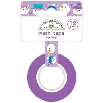 Doodlebug SNOW FRIENDS Washi Tape 6436