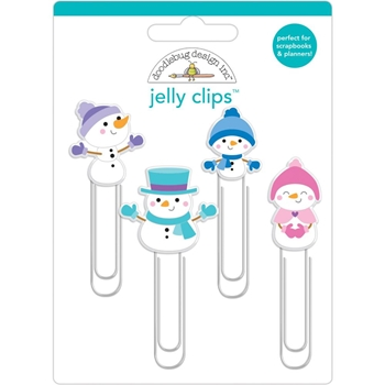 Doodlebug WINTER WONDERLAND Jelly Clips 6463