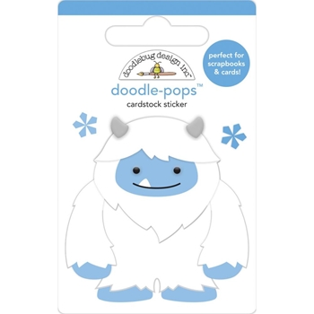 Doodlebug HARRY Doodle Pops 3D Stickers Winter Wonderland 6465
