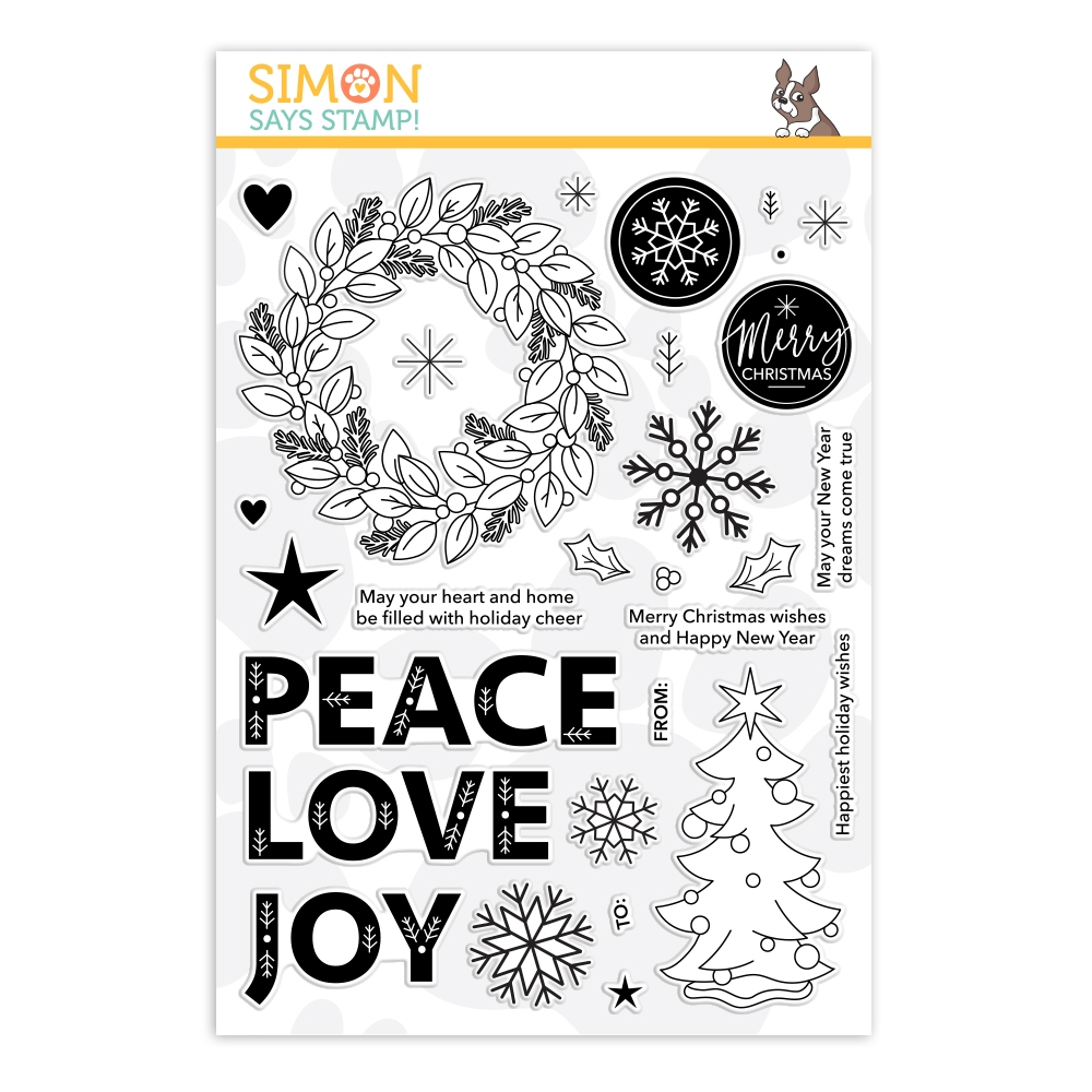 Simon Says Clear Stamps HOLIDAY CHEER sss202104 zoom image