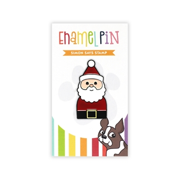 Simon Says Stamp SANTA Enamel Pin EP1038 Diecember