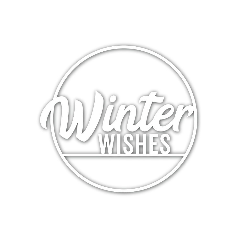 Simon Says Stamp WINTER WISHES CIRCLE Wafer Die sssd112056 Diecember zoom image