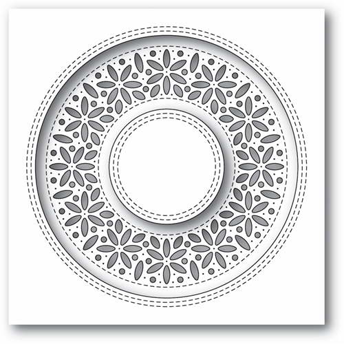 Simon Says Stamp SHIMMER WREATH Wafer Die s677 Diecember Preview Image