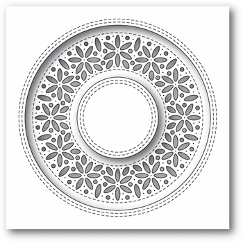 Simon Says Stamp SHIMMER WREATH Wafer Die s677 Diecember