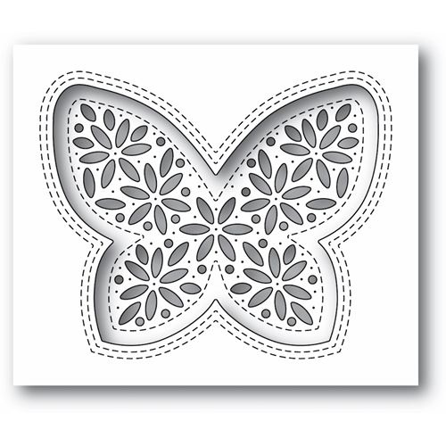 Simon Says Stamp SHIMMER BUTTERFLY Wafer Die s675 Diecember Preview Image