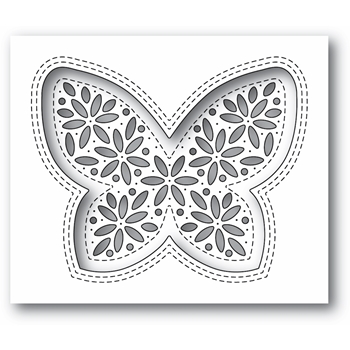 Simon Says Stamp SHIMMER BUTTERFLY Wafer Die s675