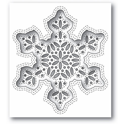 Simon Says Stamp SHIMMER SNOWFLAKE Wafer Die s684 Diecember Preview Image