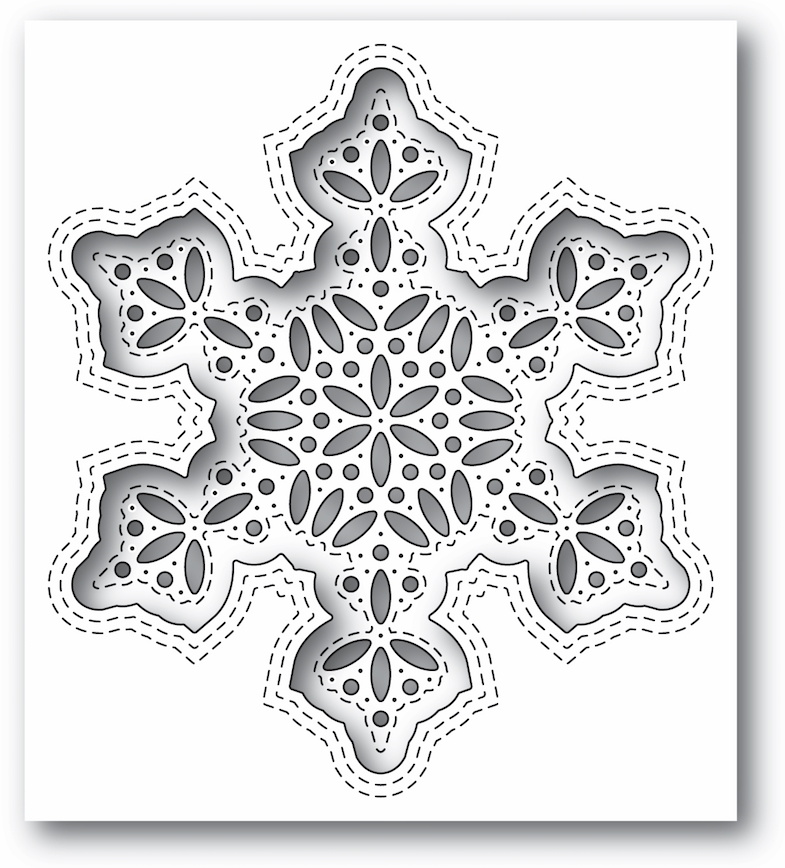 Simon's Exclusive Shimmer Snowflake Die Set