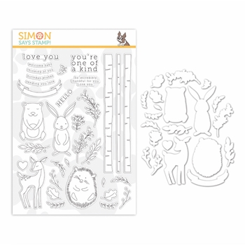 Simon Says Stamps And Dies WOODLAND WHIMSY set361ww Diecember