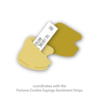 Simon Says Stamp FORTUNE COOKIE Wafer Die sssd112073 Diecember
