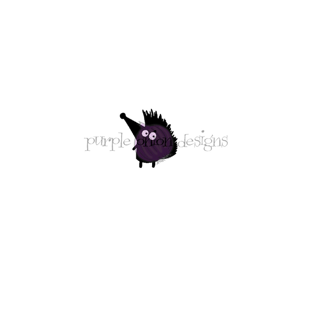 Purple Onion Designs CLAUDE Cling Stamp pod3012 zoom image