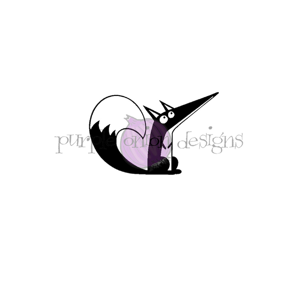 Purple Onion Designs FREDERICK Cling Stamp pod3011 zoom image
