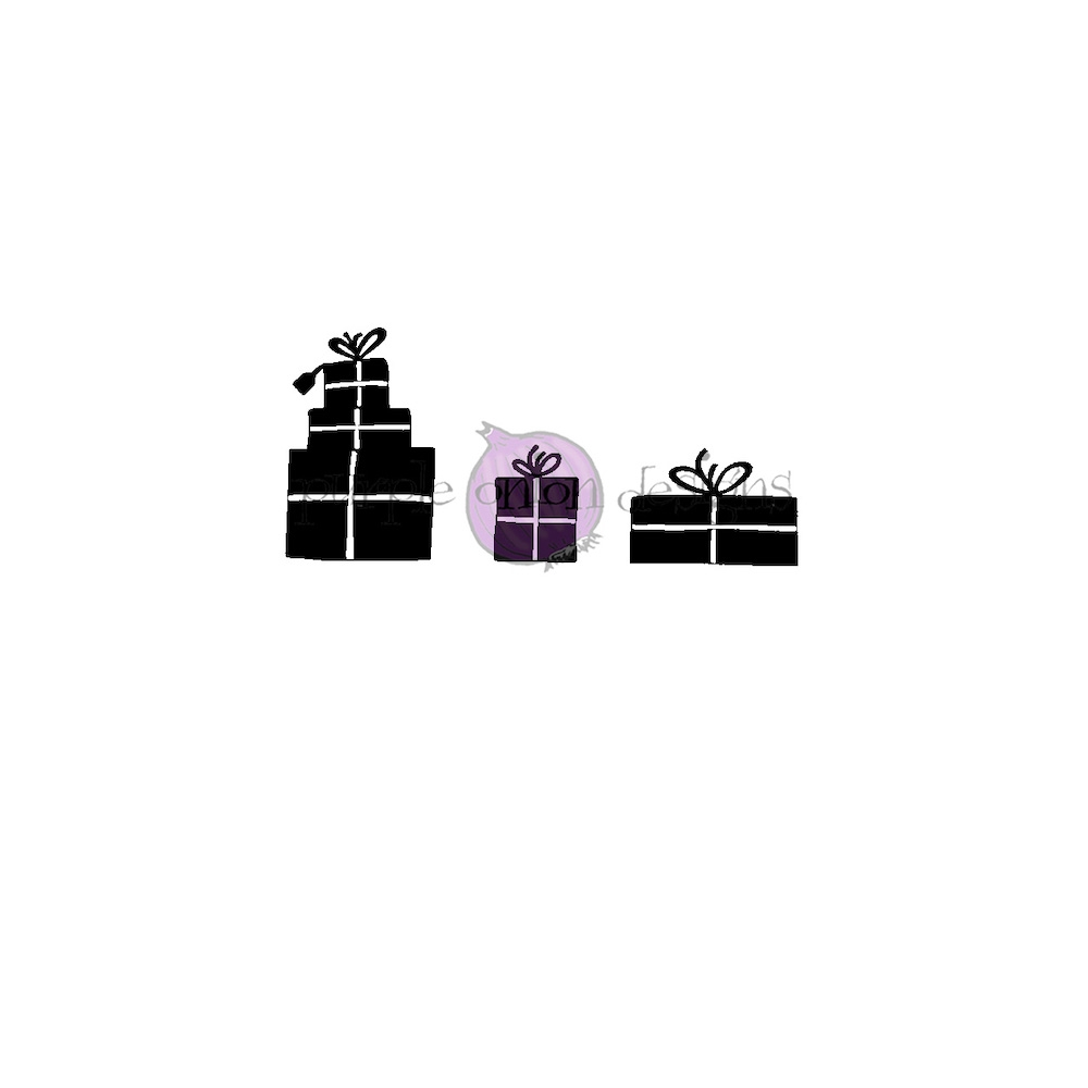 Purple Onion Designs GIFTS Cling Stamp pod3008 zoom image