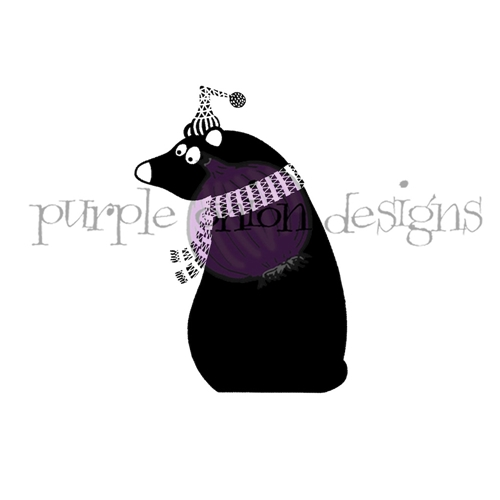 Purple Onion Designs TOBY Cling Stamp pod3009 Preview Image