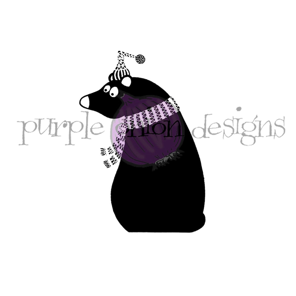 Purple Onion Designs TOBY Cling Stamp pod3009 zoom image