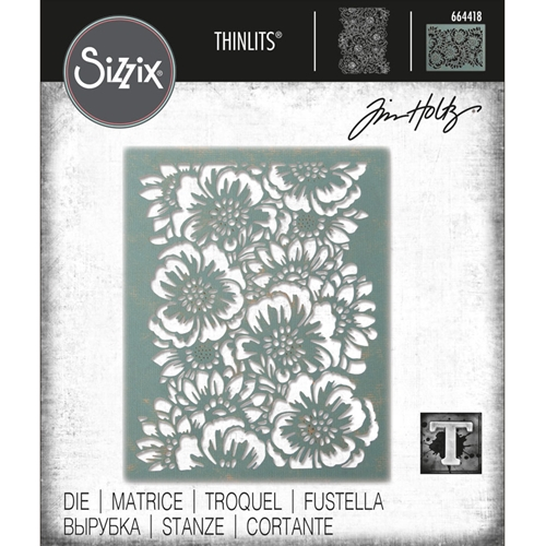 Tim Holtz Sizzix BOUQUET Thinlits Die 664418 Preview Image