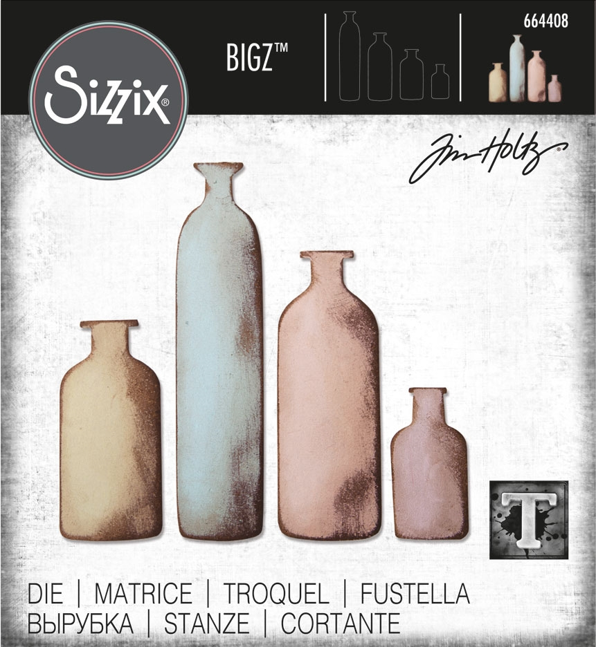 Tim Holtz Bottled Up Bigz Die