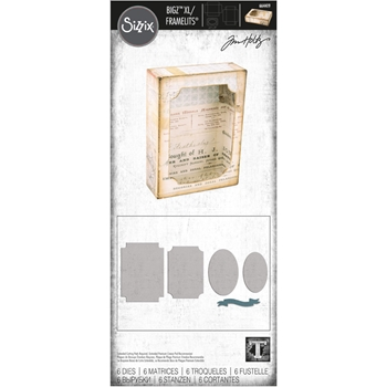 Tim Holtz Sizzix CURIO BOX Bigz XL with Framelits Dies 664419