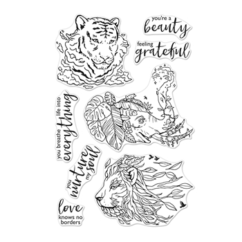 Hero Arts Clear Stamps NATURE'S BEAUTY CM415