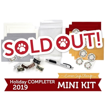 Limited Edition Simon Says Stamp CARD COMPLETER Holiday Kit 2019