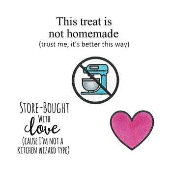 Inky Antics STORE BOUGHT WITH LOVE Clear Stamp Set 11483sc