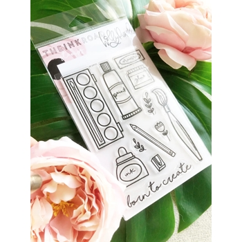 The Ink Road ART SUPPLIES Clear Stamp Set inkr119