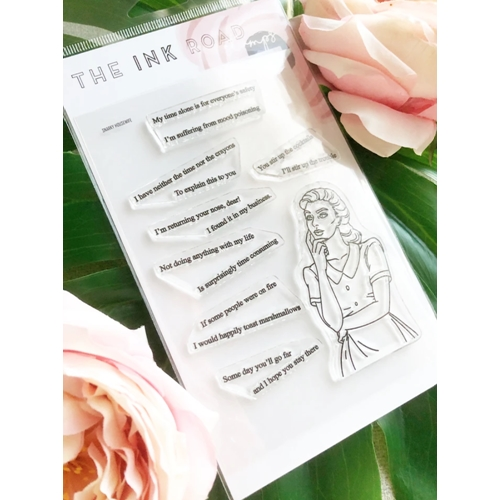 The Ink Road SNARKY HOUSEWIFE Clear Stamp Set inkr125 Preview Image