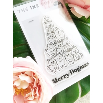 The Ink Road MERRY DOGMAS Clear Stamp Set inkr122