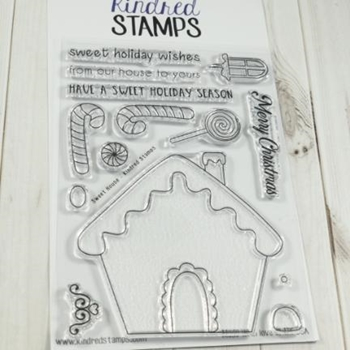 Kindred Stamps SWEET HOUSE Clear Stamps 10230844*