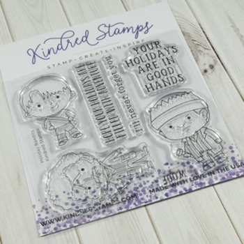 Kindred Stamps HOLIDAY BANDITS Clear Stamps 19152188