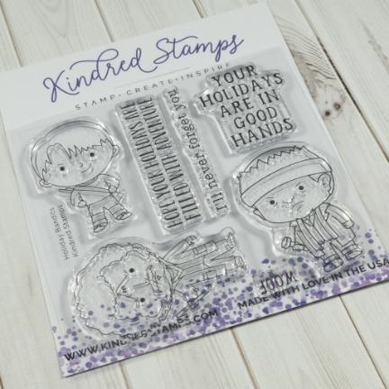 Kindred Stamps HOLIDAY BANDITS Clear Stamps 19152188 zoom image