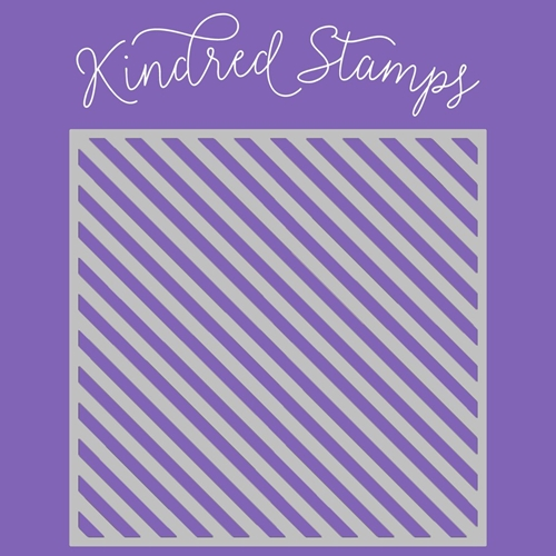 Kindred Stamps CANDY CANE Stencil 24564540 Preview Image