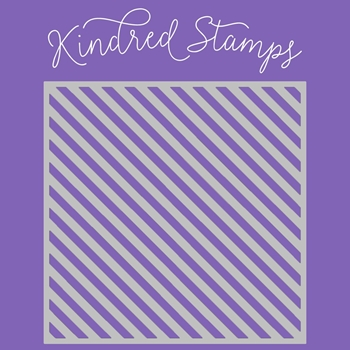 Kindred Stamps CANDY CANE Stencil 24564540