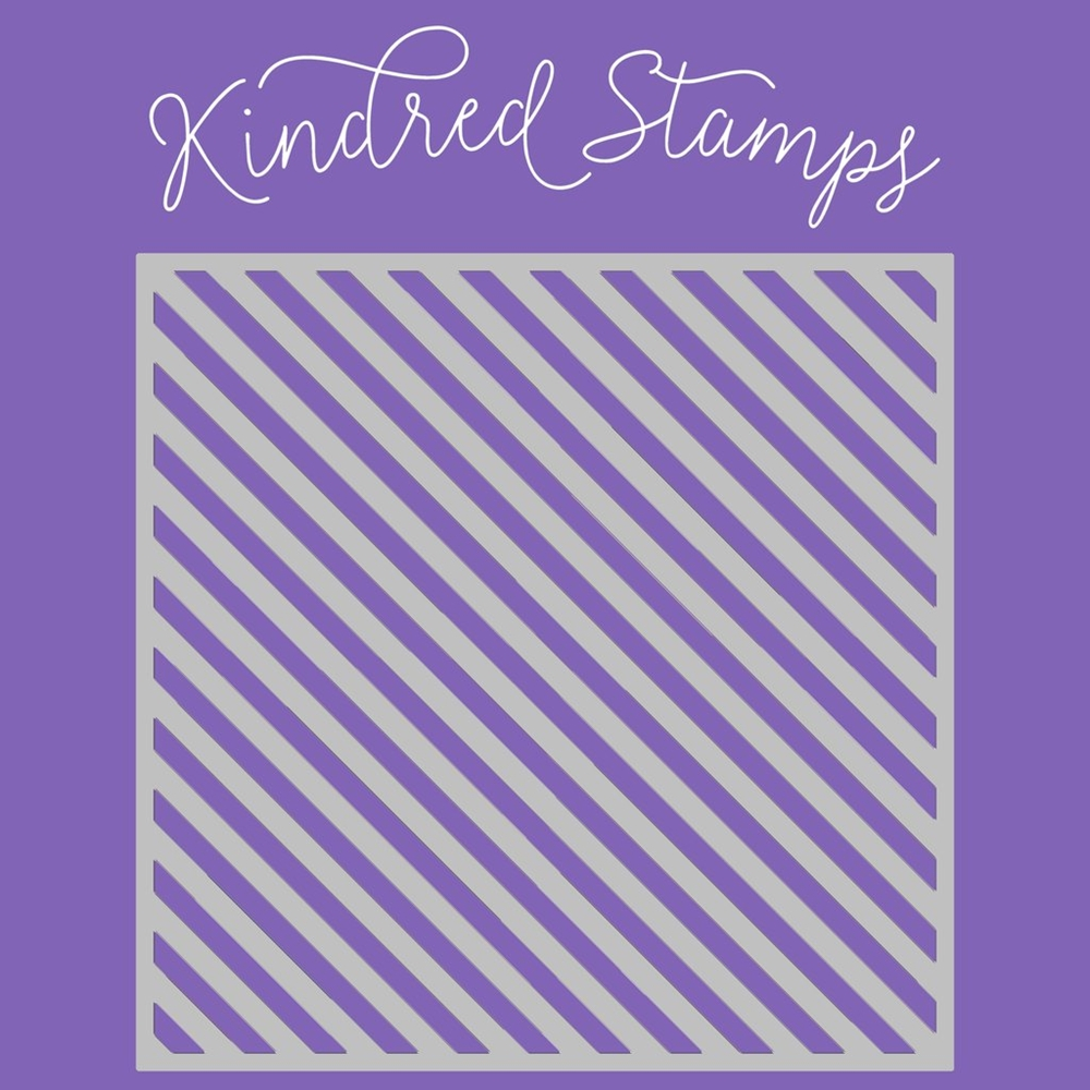 Kindred Stamps CANDY CANE Stencil 24564540 zoom image