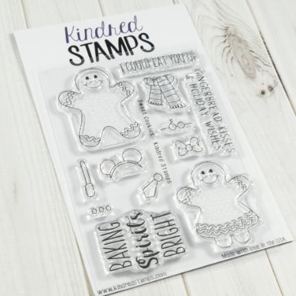 Kindred Stamps SWEET COOKIES Clear Stamps 83230012 Preview Image