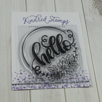 Kindred Stamps HELLO FLORAL Clear Stamps 77222716 Preview Image